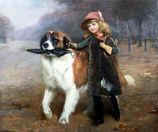 Собаки в живописи